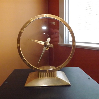 Jefferson Golden Hour clock - Art Deco