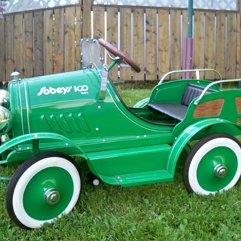 sobeys grocery store  100 anniversery pedal car