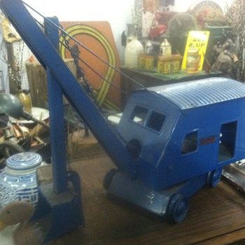Old Toy Steam Shovel - Model Cars