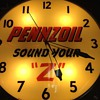 pennzoil 20&quot; pam clock