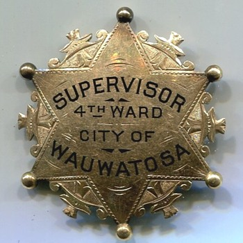 A Very Misleading Wauwatosa Wisconsin Badge