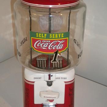 1950's Acorn gumball machine