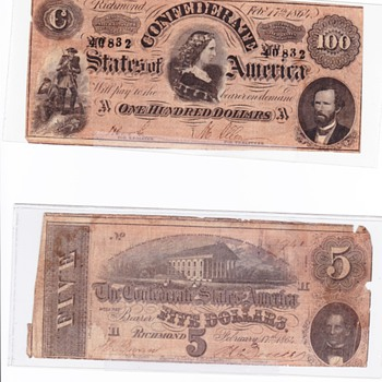 Valuation help - US Paper Money