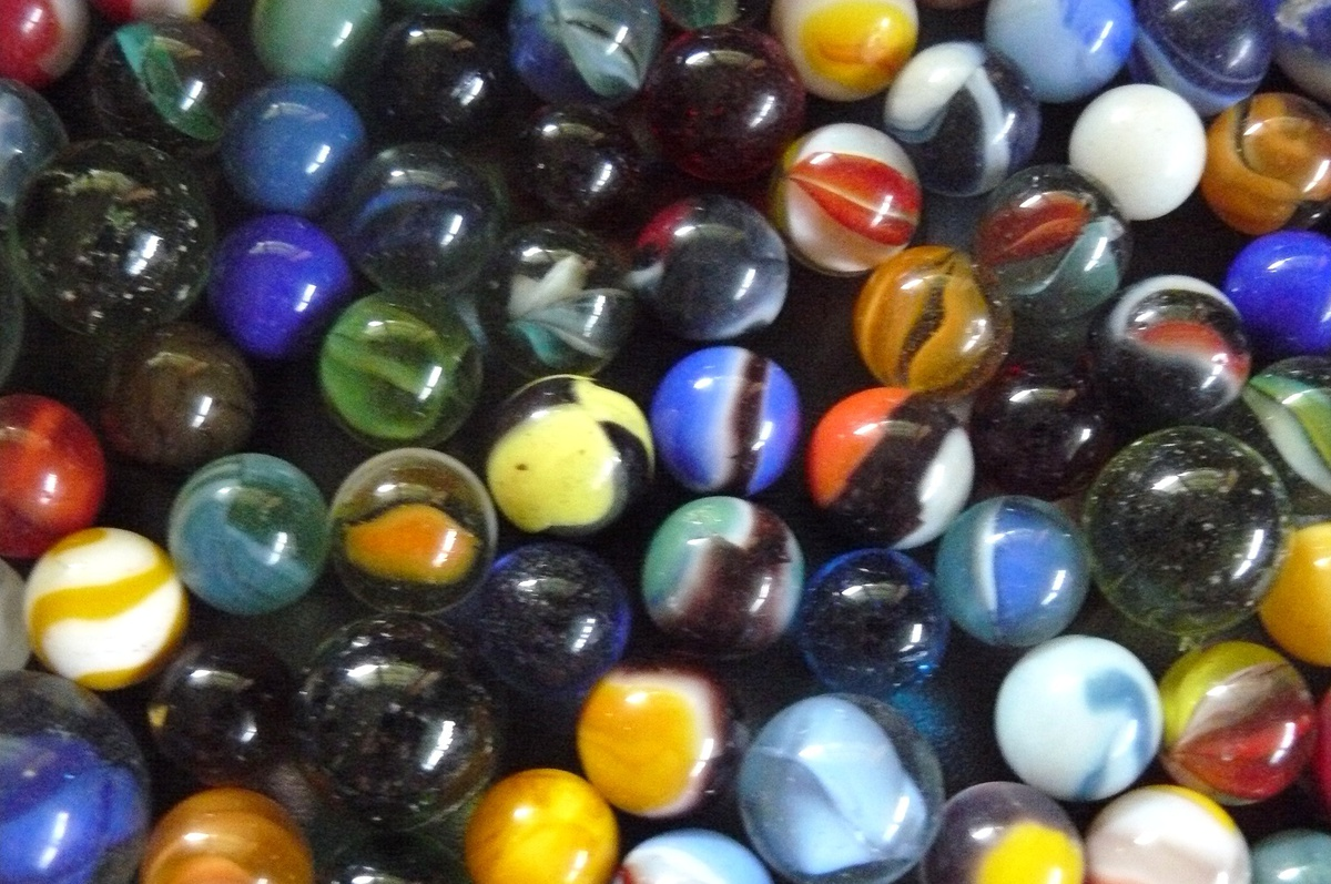 Help Identifying Old Marbles Trash Or Treasure