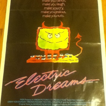 """Electric Dreams"" Poster - Movies"