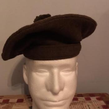 WWII Royal Scots Tam O'Shanter Bonnet