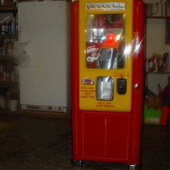 1948 Minit Pop Popcorn Machine - Coin Operated
