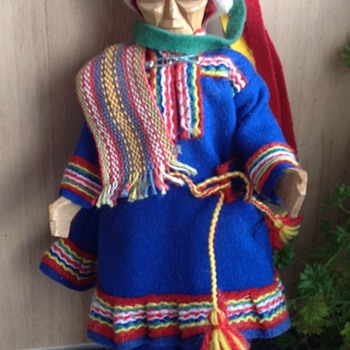 Saami Wooden doll