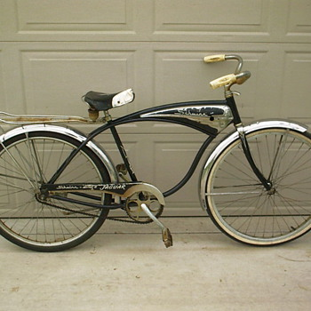 Schwinn Jaguar tank bicycle.