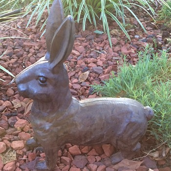 Cast Iron Rabbits