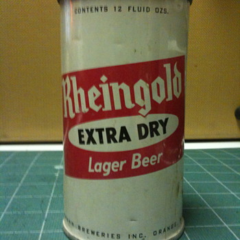 Vintage Rheingold 12 Oz. beer can