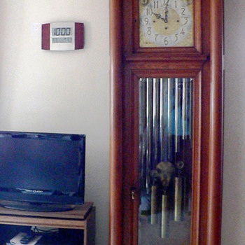 Long Tall Grandfather Clock