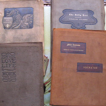 4... Roycroft Press ...Suede covers