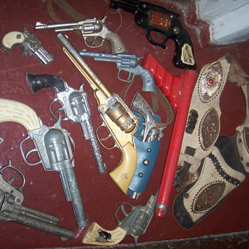 Cap gun collection