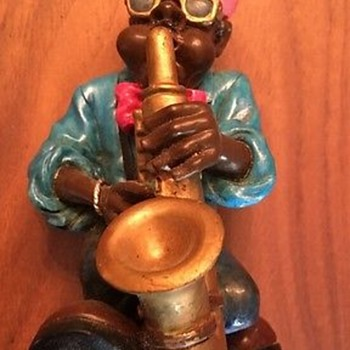 Saxophone player figurine by The Summit Collection