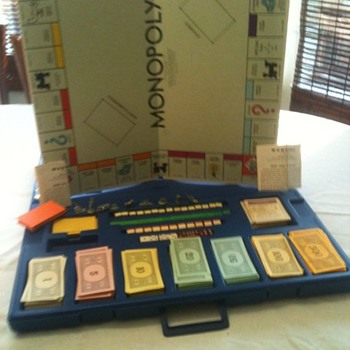 1965 30th Anniversary Monopoly - Games