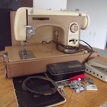 Brother Super Flairmatic 190B Sewing Machine - Sewing