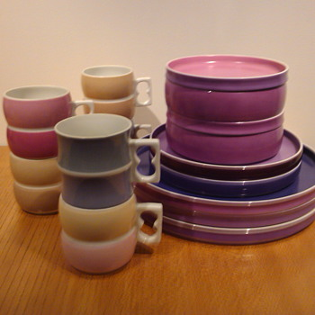 GULOTTA / PRINCE 1000 CHROMATICS - China and Dinnerware