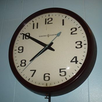 General Electric School Clock