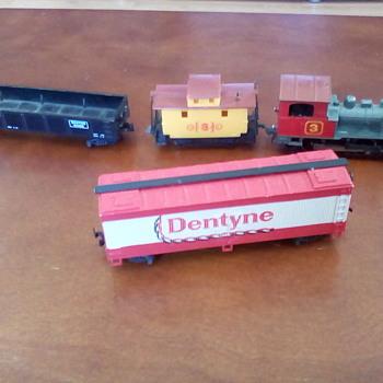 A Box of Train Stuff - Model Trains