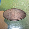 Oregon Zoo pressed coin