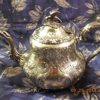 Here's A POT TO POUNDER  Love & Admire  - Sterling Silver