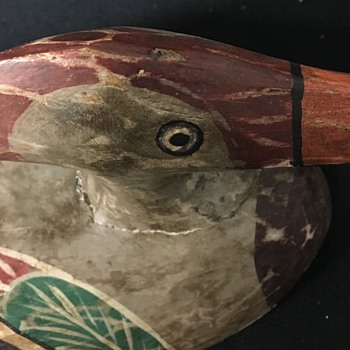 Antique Duck Decoy Gift from Father Never Seen One Like It!!!