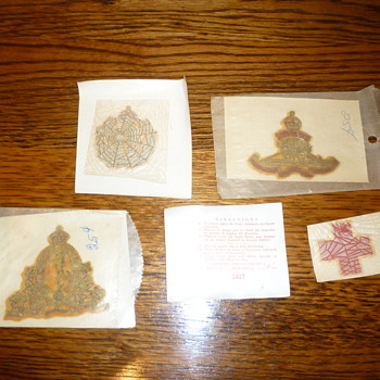 Super rare WWII helmet (unused) decals!!! - Military and Wartime