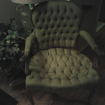 My favorite great grandmother chair - Furniture