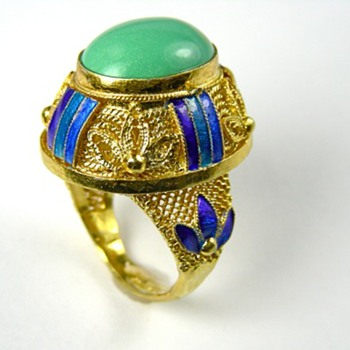 More Mongolian Jewelry Eye Candy! - Asian