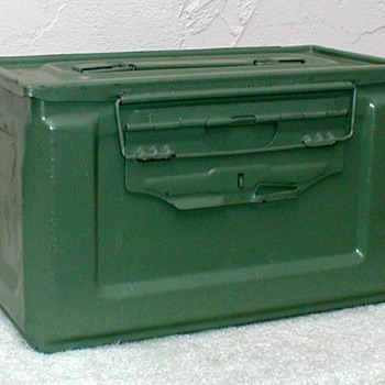 """Modern"" .50 caliber M2 Ammo Box - Military and Wartime"