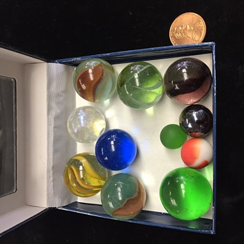 I found my marbles !