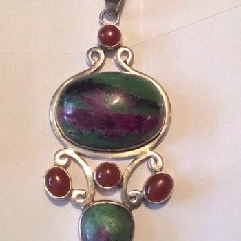 Vintage large heavy pendant