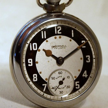 Festival of Britain Ingersoll 'Triumph' Pocket Watch - Pocket Watches