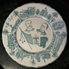 Mexican Commemorative Plate - Porfirio Diaz and ? - Wood & Sons, England