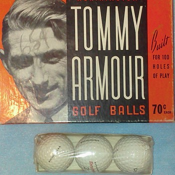 Blame it all on Tommy Armour. - Sporting Goods