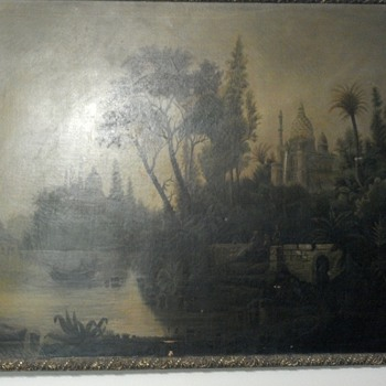 Help Identify Saved Midwest Painting - Visual Art