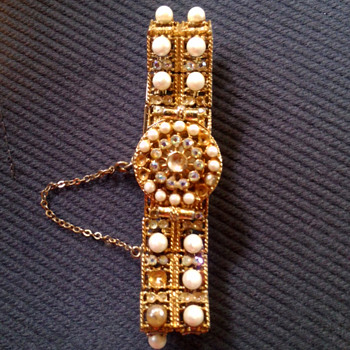 Coro Wrist Watch - Costume Jewelry