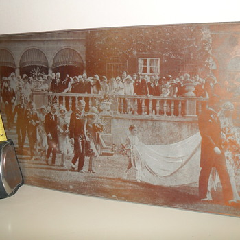 1926 McLaughlin Wedding at Parkwood Estates (Etched plate)
