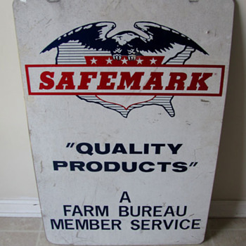 SAFEMARK Farm Bureau Sign - Signs