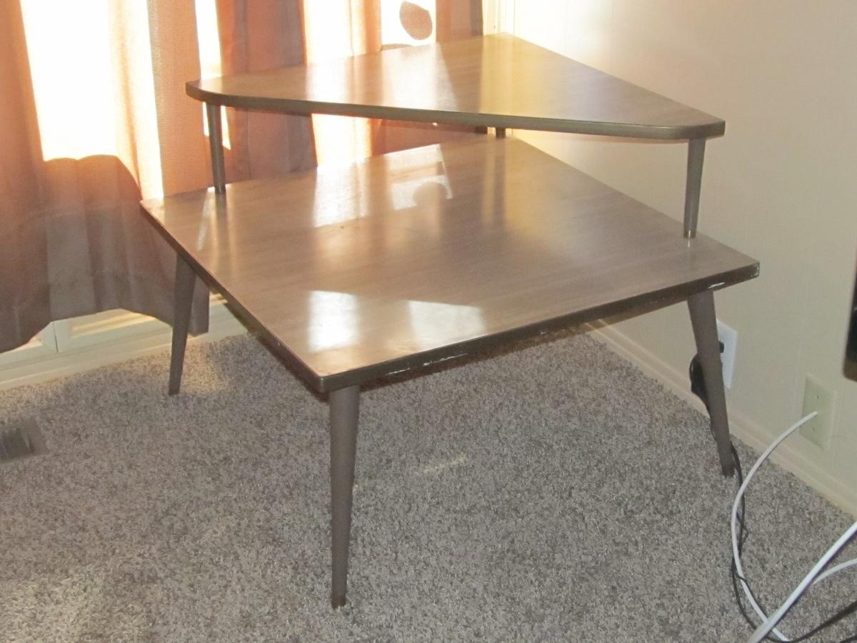 Vintage Corner Table 85