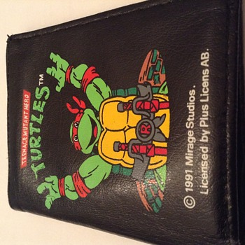 Unique Turtles wallet from 1991 perfekt mint