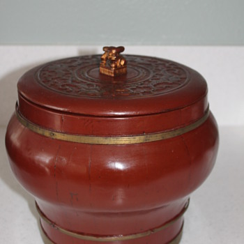 Wooden Box - Asian