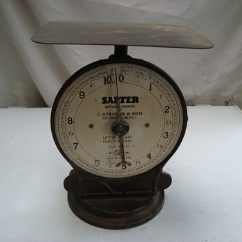 Salter vintage post office scales