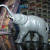Metal elephant figure