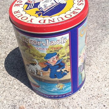 Cracker Jack Tin Third in Series - Advertising