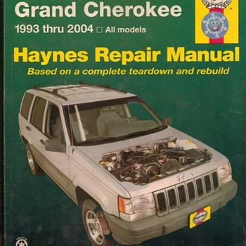 Haynes Repair Manual - Jeep Grand Cherokee - Classic Cars