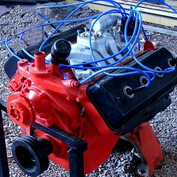 HEMI 392 cid Engine
