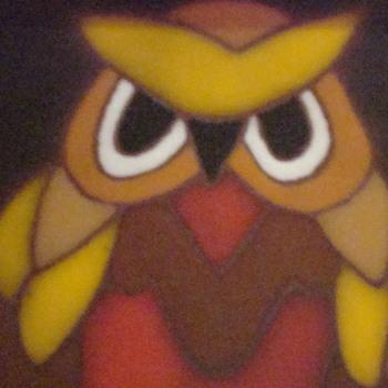 My angry owl