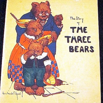 The Story Of The Three Bears, Published In 1921